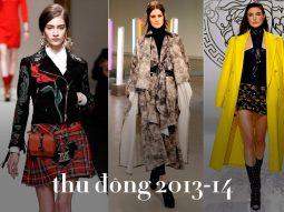 Phong cách Punk tái sinh mùa Thu Đông 2013