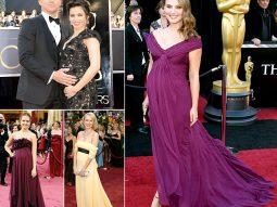 Hướng tới Oscar: Những bà bầu xinh đẹp trên thảm đỏ