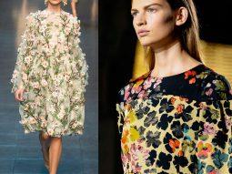 Trend Alert: Họa tiết hoa trên sàn diễn Xuân Hè 2014