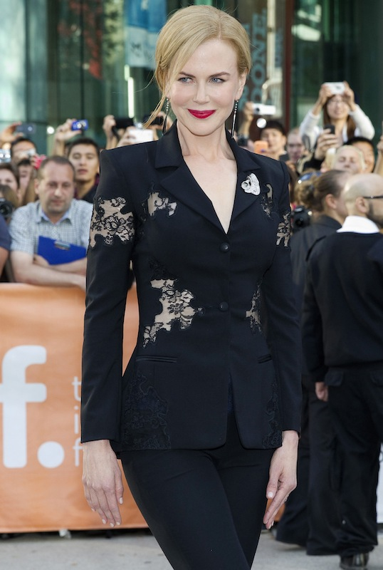 """Cast member Nicole Kidman arrives for the premiere of the film """"The Railway Man"""" at the 38th Toronto International Film Festival in Toronto"""