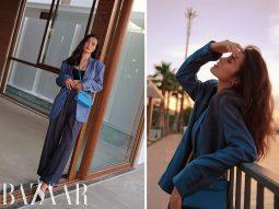 Đông Nhi lên đồ với túi Hermès Kelly Mini, chào tháng 10 bận rộn