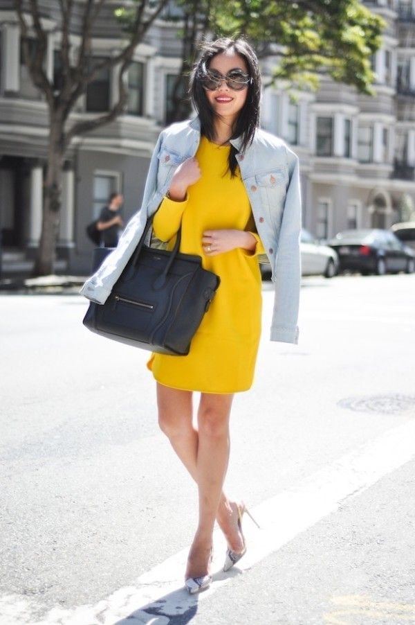 street-style-yellow-dress