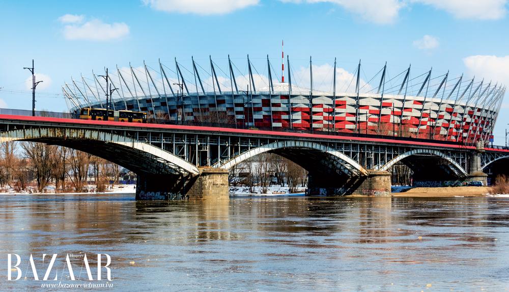 Cầu Poniatowski dài 506m