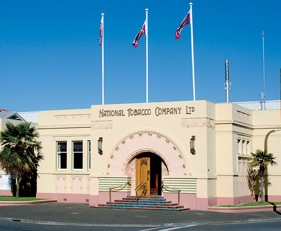Một tòa nhà tiêu biểu ở thánh địa của Art Deco, Napier, New Zealand