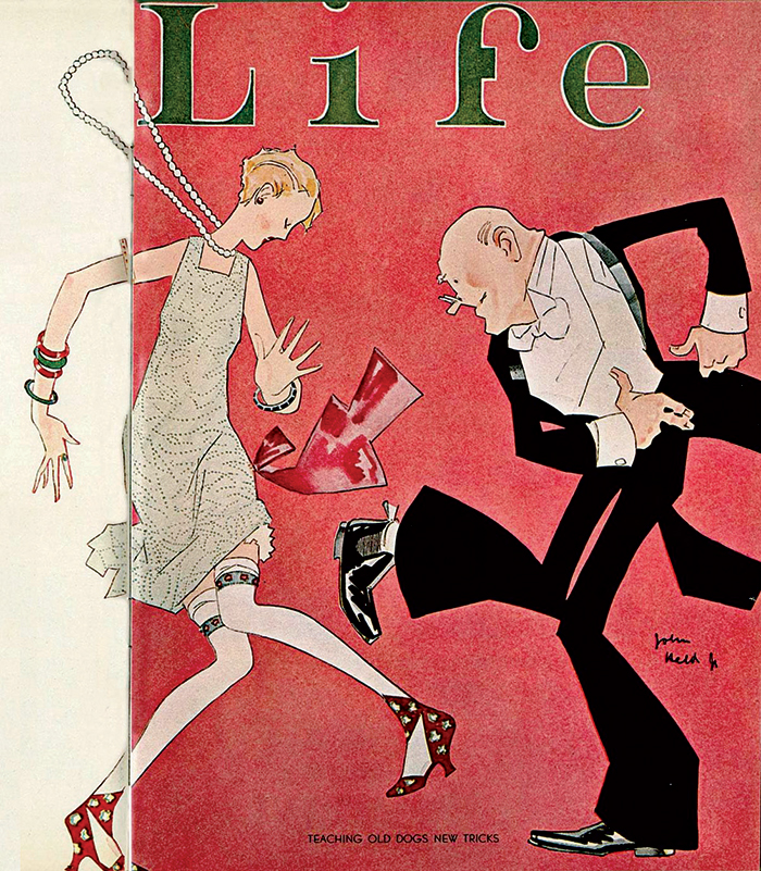 Một thiết kế bìa với mảng màu mạnh của tạp chí Life