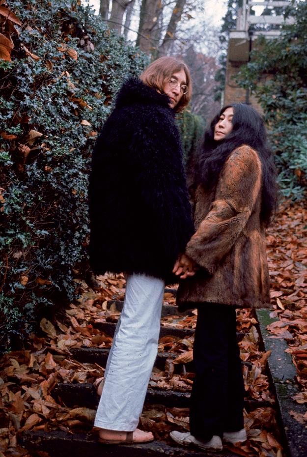 Yoko và John Lennon