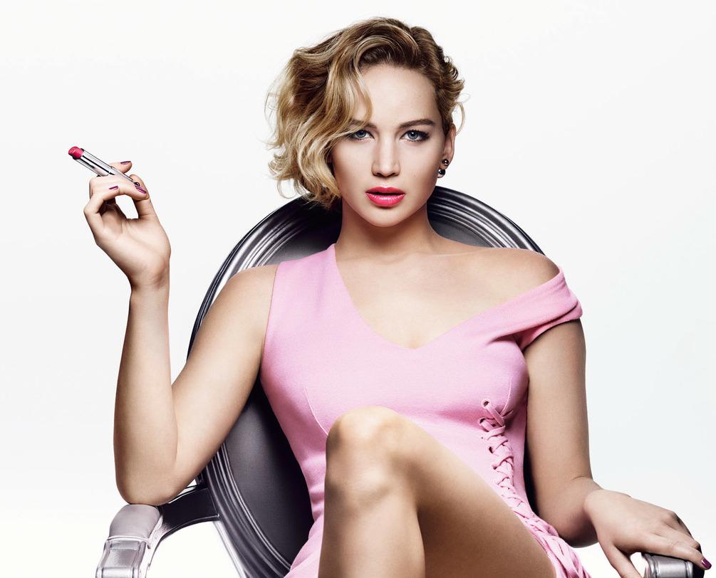 Jennifer Lawrence kiêu sa trong quảng cáo son Dior Addict ...