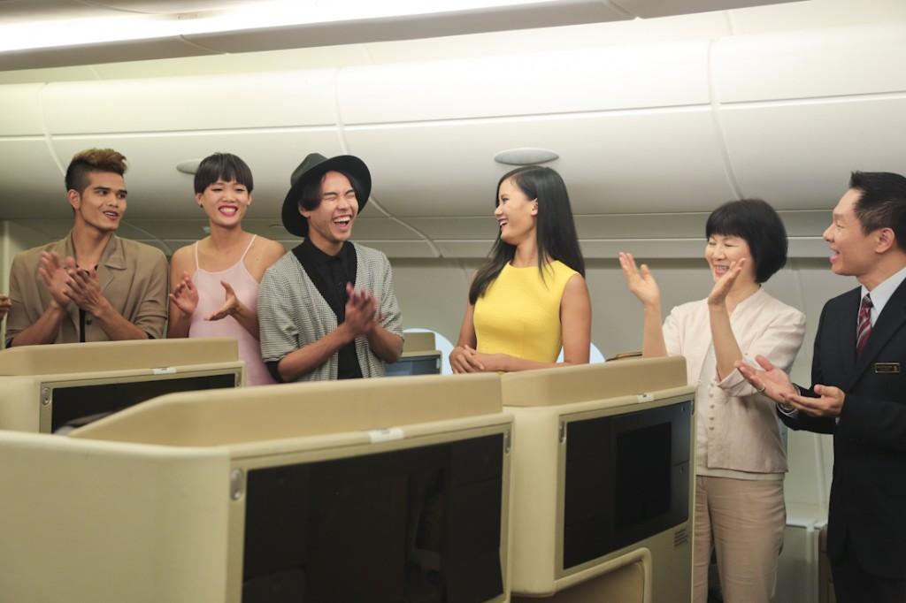 Cùng Thành An chiến thắng thử thách tập làm tiếp viên hàng không tại Singapore Airlines