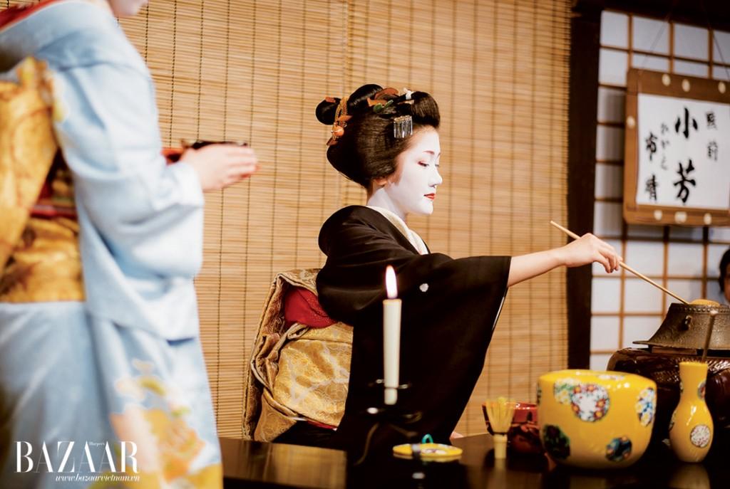 Trà đạo là nét văn hóa đẹp của Nhật với nhiều nghi lễ cầu kỳ đòi hỏi sự kiên nhẫn và tinh tế trong thưởng thức