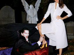 Thiên thần Miranda Kerr và cuộc săn đuổi đêm Halloween