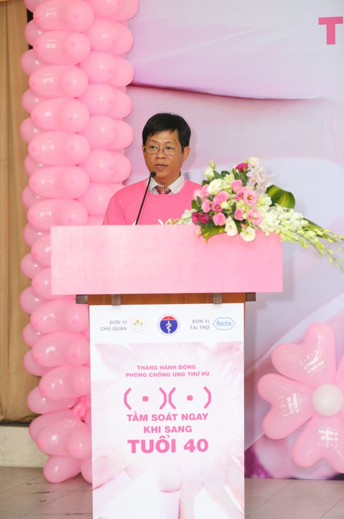 PGS.TS Trần Văn Thuấn. Giám Đốc  Quỹ Hỗ trợ bệnh nhân ung thư – N gày Mai Tươi Sáng