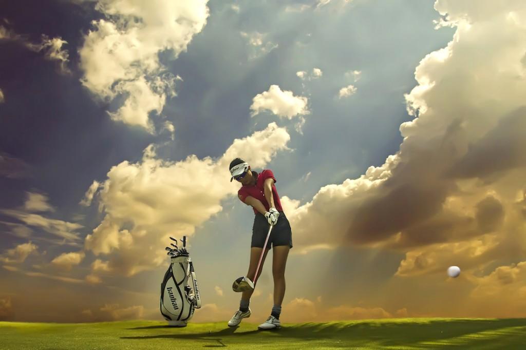 Ngoài thời gian làm việc căng thẳng, chị Gia Bảo thường xuyên tập Golf để tăng cường sự tập trung, linh hoạt và quyết đoán.