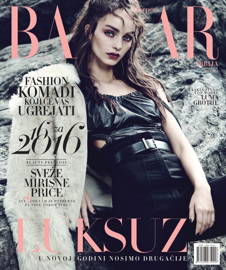 Luma-Grothe-Harpers-Bazaar-Serbia-January-2016-Cover-Editorial01