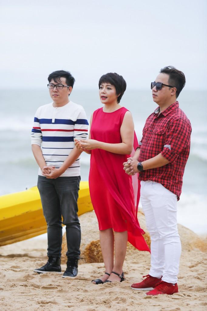 Mentor Tung Leo, chi Doan Ngoc- Dai dien Canifa va NTK Chau Chan Hung (1)
