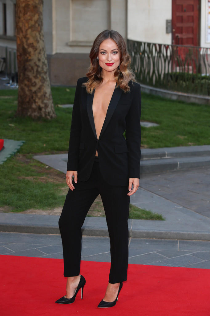 edi_pant suit_Olivia Wilde in Gucci