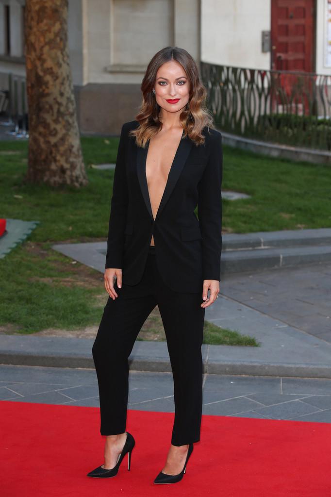 edi_pant suit_Olivia Wilde in Gucci