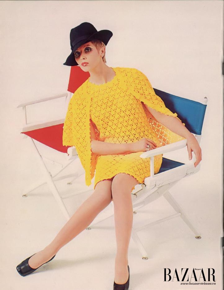 Thiết kế crochet dress thập niên 1960's