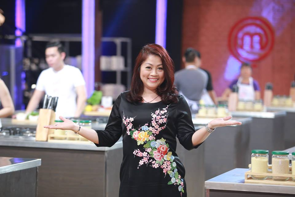 Chị Tịnh Hải làm giám khảo tại cuộc thi Masterchef Vietnam 2015