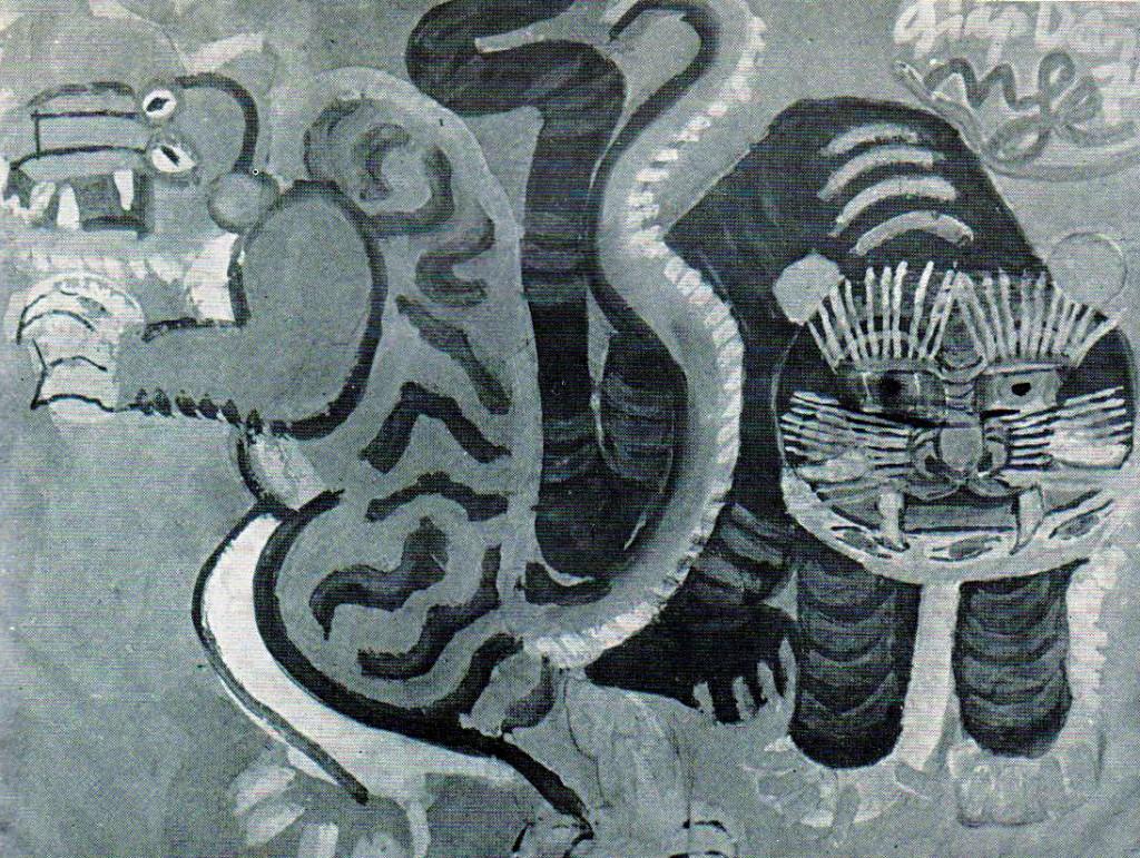 Tranh hổ của họa sỹ Nguyễn Tư Nghiêm