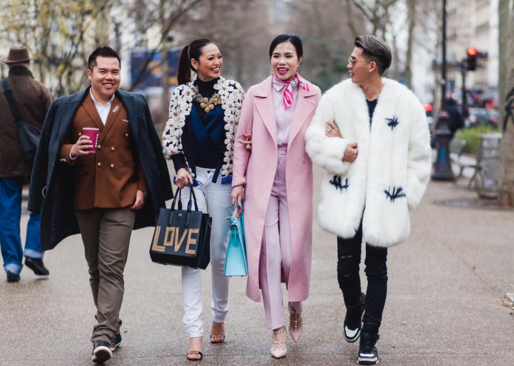 Những fashionista Việt Nam hội ngộ tại Paris Fashion Week 2016
