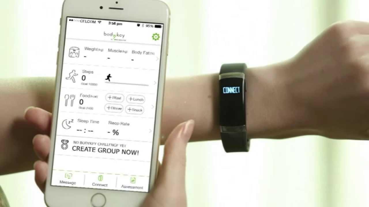 Ứng dụng BodyKey và Vòng inbody BAND giúp hỗ trợ quản lý cân nặng