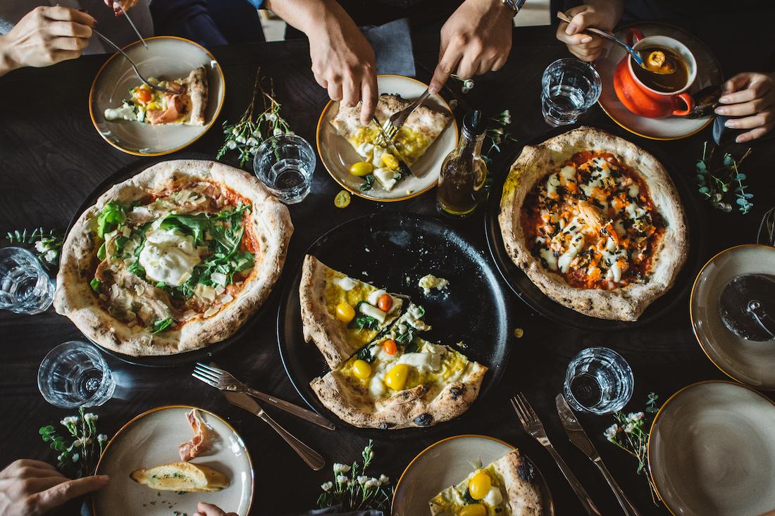 Thực đơn Pizza phong phú và tốt cho sức khỏe