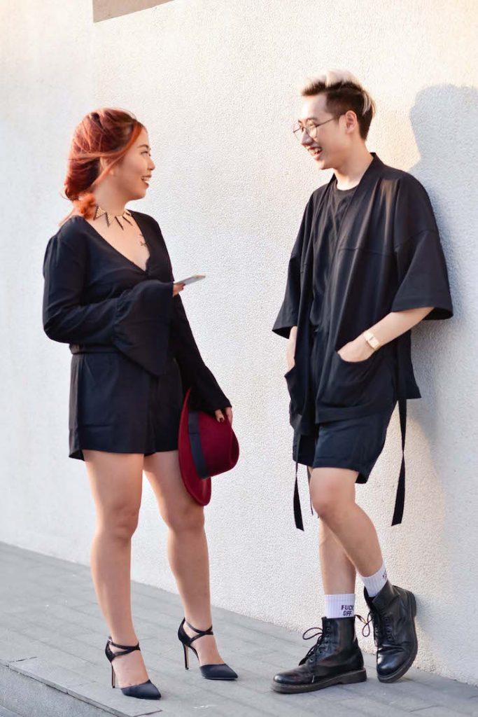 Biên tập viên thời trang của Tiếp Thị và Gia Đình trong phong cách witchy (phù thuỷ), cũng chọn tóc tết để đi VIFW16