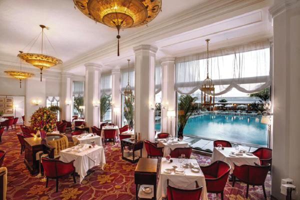Nhà hàng Cipriani lấy cảm hứng từ khách sạn nổi tiếng Negresco tại Nice, Pháp