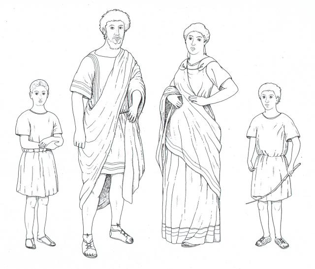 Trang phục Toga của thời Rome cổ đại