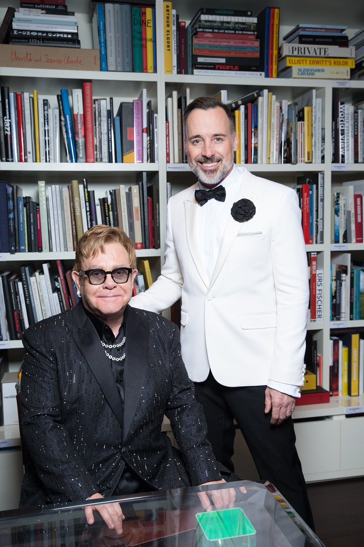 Bộ đôi nghệ sỹ Sir Elton John và David Furnish