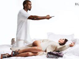 """Kim Kardashian và Kayne West xuất hiện trong bộ ảnh """"ICON"""""""
