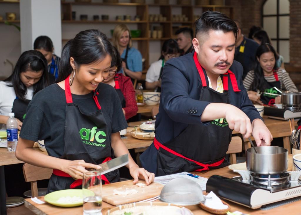 Cô sẽ đến để trải nghiệm và mang đến luồng gió mới cho ẩm thực Châu Á