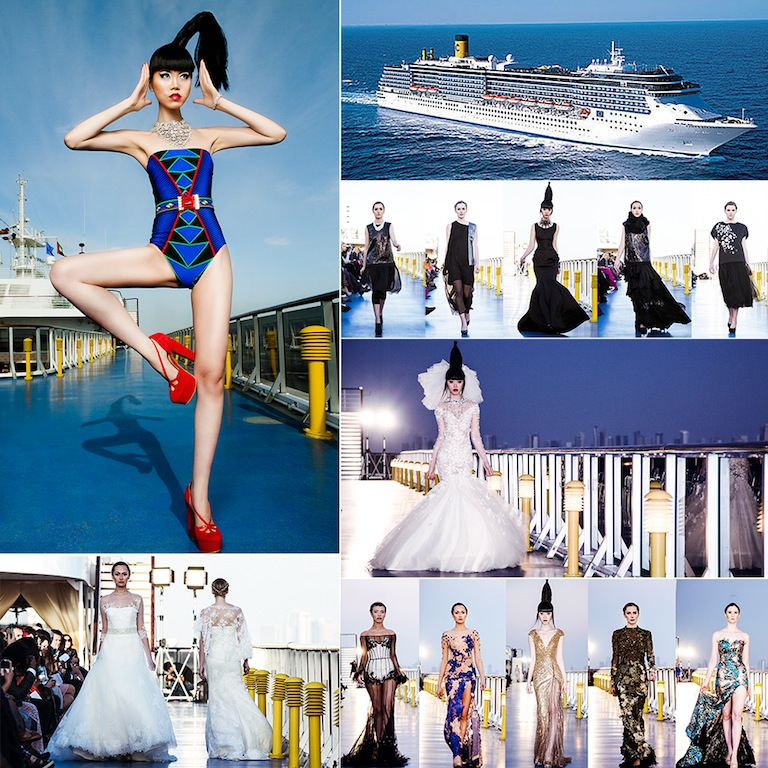 J Winter Fashion Show on Costa Atlantica by Jessica Minh Anh