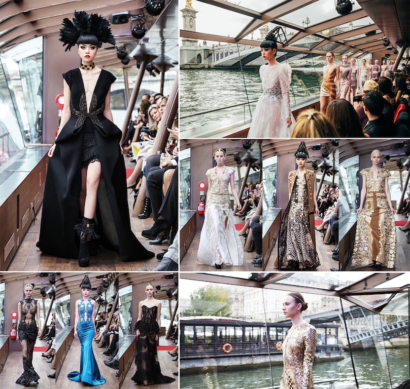 Jessica Minh Anh's Autumn Fashion Show 2015 Seine Paris