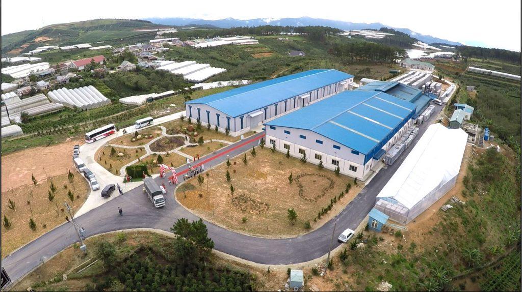 Toàn cảnh nhà máy làm vang Ladora Winery tại Đà Lạt
