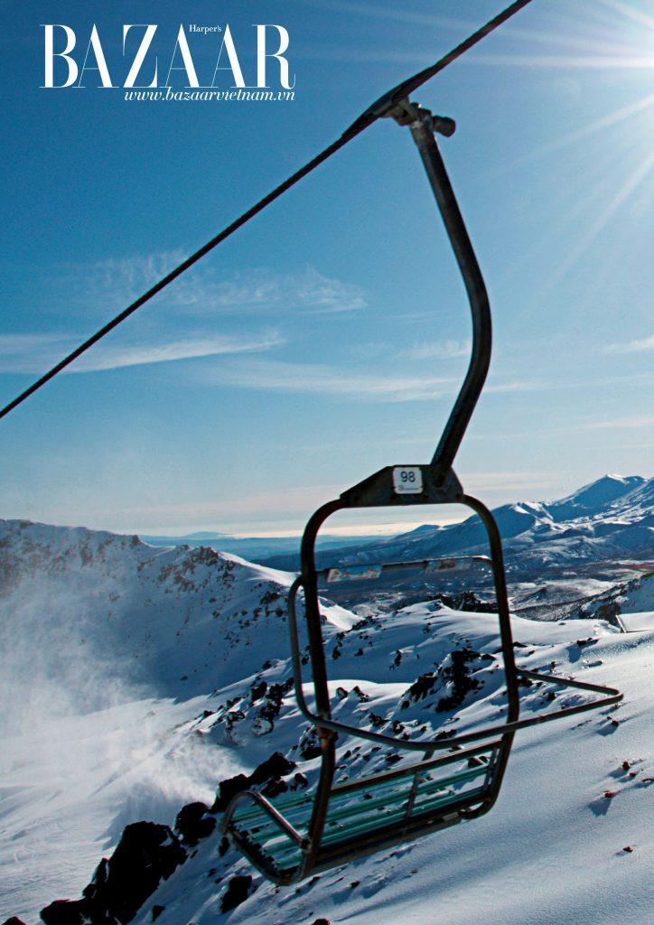 Khu vực trượt tuyết tại Queenstown