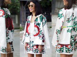 NTK Anna Võ lạ mắt với trang phục lấy cảm hứng từ… salad trái cây