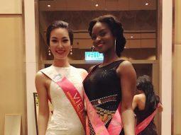 Hé lộ trang phục dạ hội của Phạm Thùy Linh đêm chung kết Hoa hậu Du lịch Quốc tế 2016