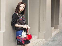 Angela Phương Trinh trẻ trung xuống phố du Xuân