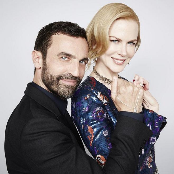Nicolas Ghesquière và Nicole Kidman