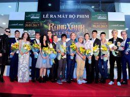 Dàn sao Việt hội tụ đêm ra mắt phim Tết Rừng xanh kỳ lạ truyện