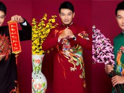 """Trương Minh Quốc Thái """"chuẩn nam thần"""" trong bộ áo dài của NTK Minh Châu"""