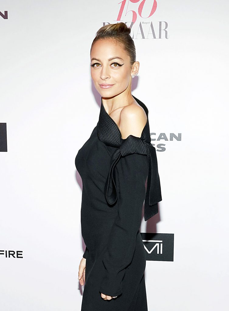 WEST HOLLYWOOD, CA - JANUARY 27: Nicole Richie attends Harper's BAZAAR celebration of the 150 Most Fashionable Women presented by TUMI in partnership with American Express, La Perla, and Hearts On Fire at Sunset Tower Hotel on January 27, 2017 in West Hollywood, California. (Photo by Rachel Murray/Getty Images for Harper's Bazaar)