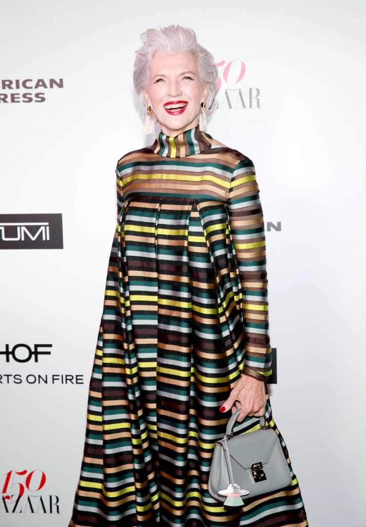 WEST HOLLYWOOD, CA - JANUARY 27: Maye Musk attends Harper's BAZAAR celebration of the 150 Most Fashionable Women presented by TUMI in partnership with American Express, La Perla, and Hearts On Fire at Sunset Tower Hotel on January 27, 2017 in West Hollywood, California. (Photo by Rachel Murray/Getty Images for Harper's Bazaar)