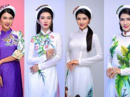 Bà mẹ một con Kim Tuyến đằm thắm trong trang phục áo dài của NTK Minh Châu