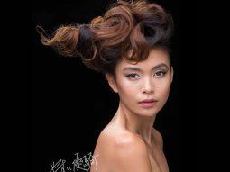 Mâu Thủy, mẫu Việt duy nhất trong chiến dịch toàn cầu của Shu Uemura Art of Hair