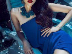 Lan Khuê là người mẫu vedette show diễn cá nhân ngoài trời của Lâm Gia Khang
