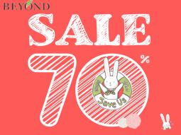 Beyond sale 70% – thiên đường mỹ phẩm giảm giá nhất trong 3 ngày