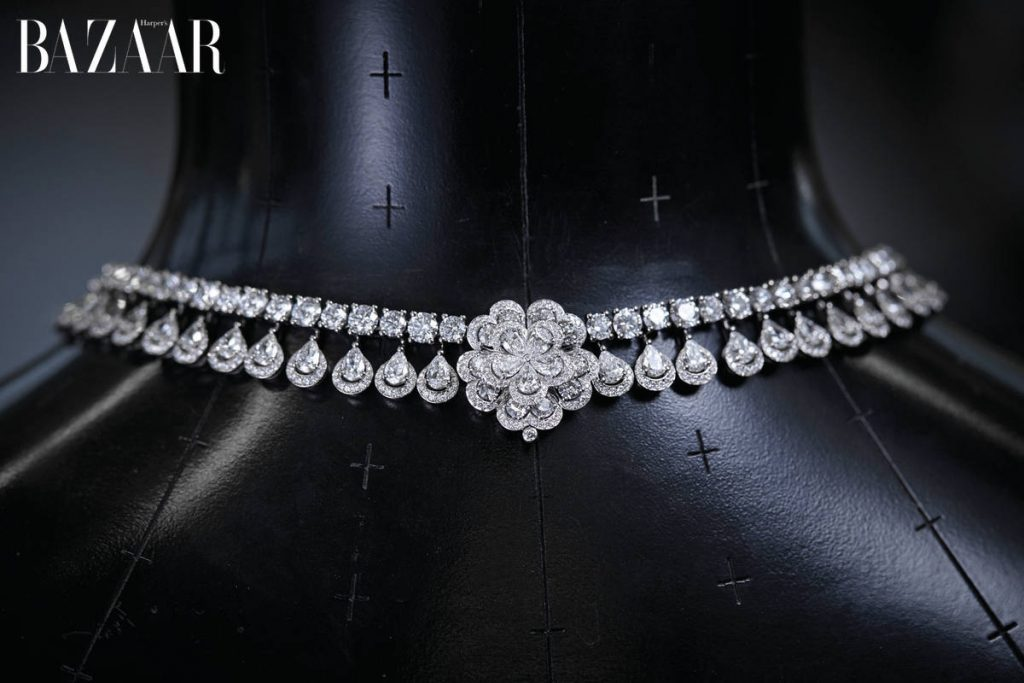 Chopard, Queen of Kalhahari, Collection exceptionnelle de diamants, Travail à l'atelier de haute joaillerie