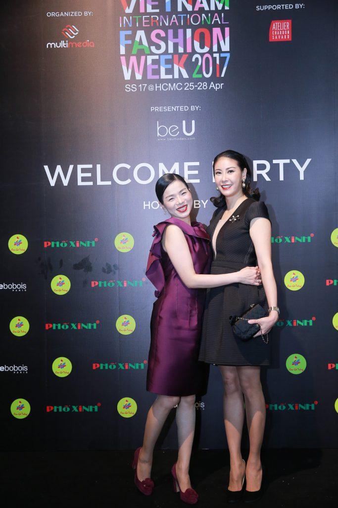 ca sỹ Lệ Quyên và hoa hậu Hà Kiều Anh